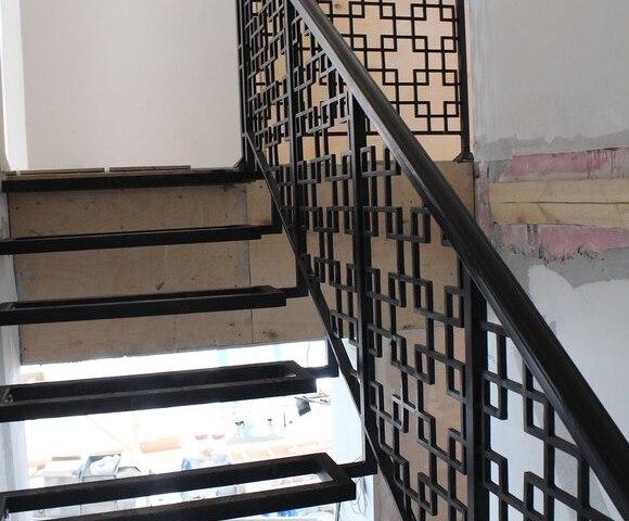 Лестница металлическая DF14 2