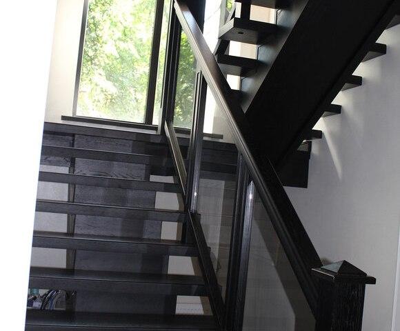 Лестница на монокосоуре DF13 3