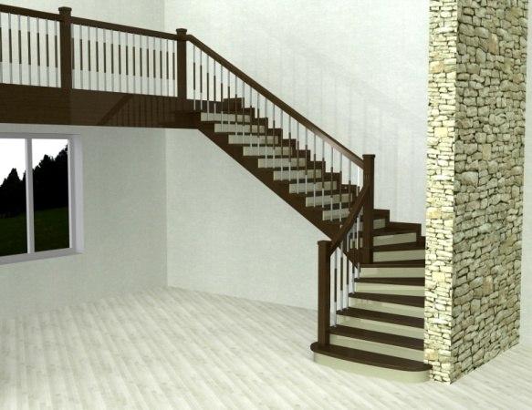 Лестница ДК-4 1