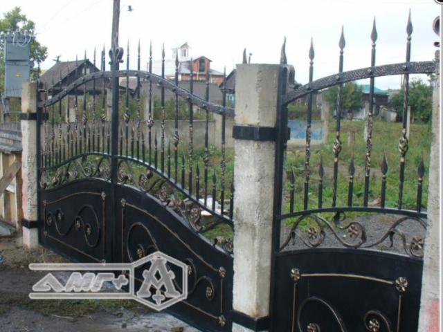 Кованые ворота Z-05 1