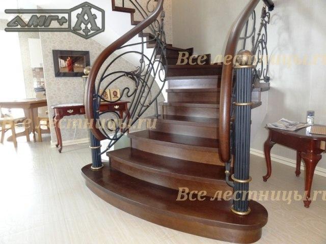 Комбинированная лестница CS_07 1