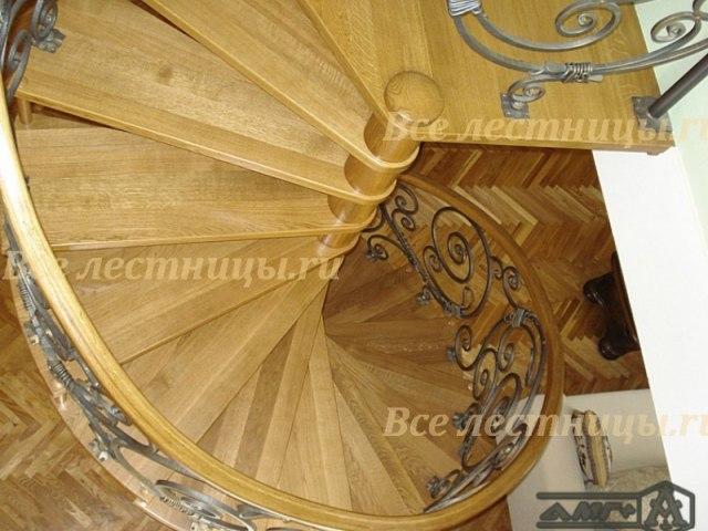 Винтовая лестница V-08 1