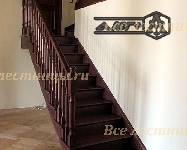Деревянная лестница D-34 1