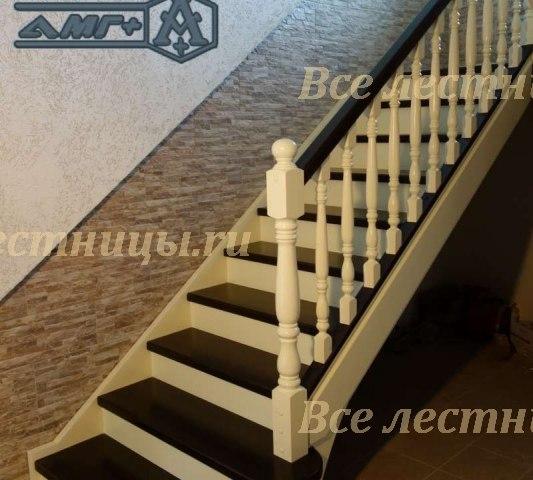 Деревянная лестница D-36 1