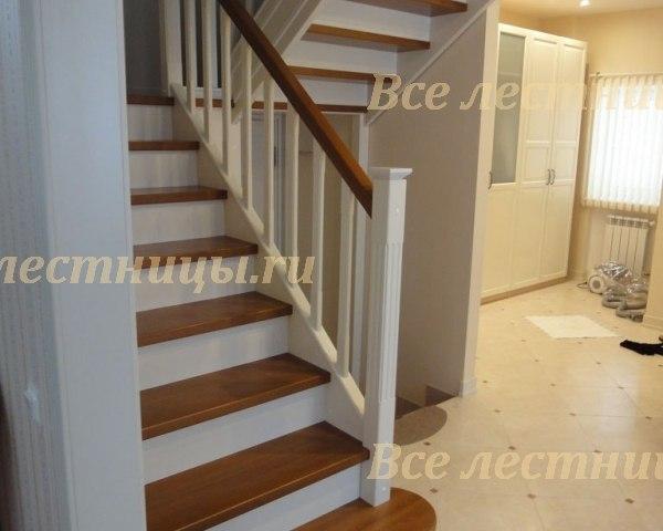 Деревянная лестница D-60 1