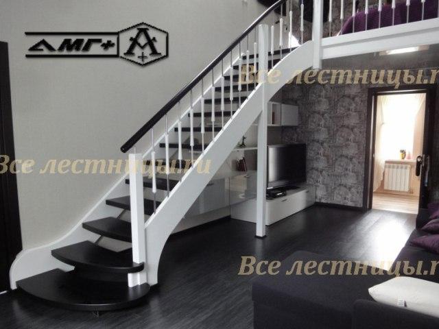 Деревянная лестница CS_60 1
