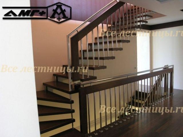 Деревянная лестница CS_62 1