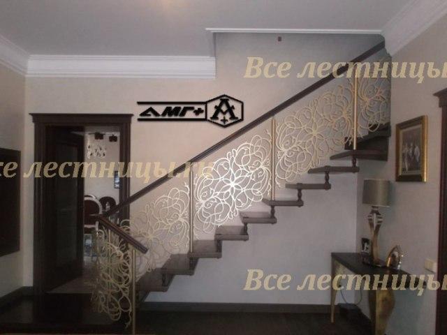 Комбинированная лестница CS_70 1
