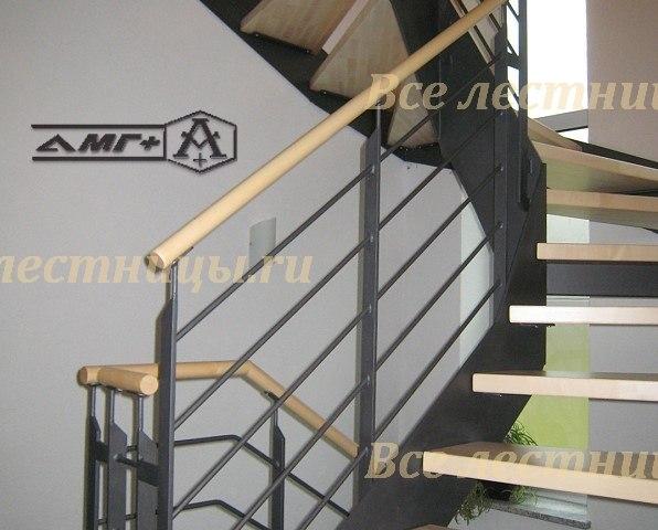 Комбинированная лестница CS_75 1