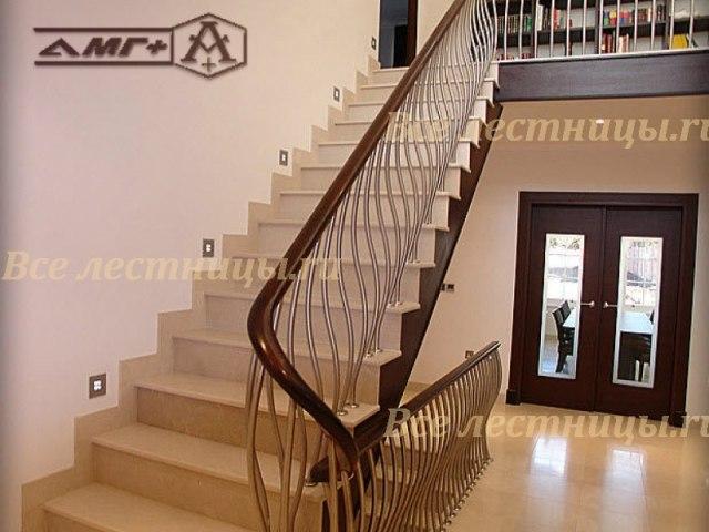 Комбинированная лестница CS_76 1