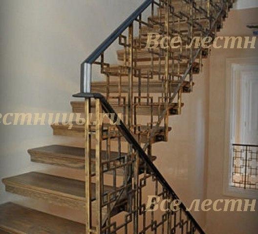 Комбинированная лестница CS_77 1