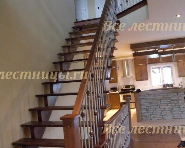 Деревянная лестница CS_89 1