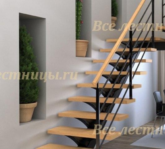 Лестница на металлокаркасе CS_91 1