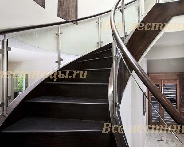 Стеклянная лестница ST_1 1