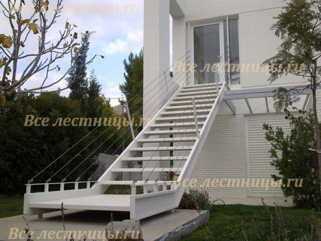 Лестница металлическая M-49 1