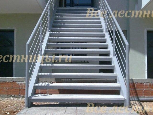 Лестница металлическая M-67 1
