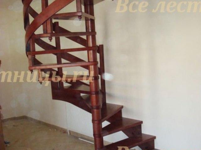Деревянное лестничное ограждение DO-16 1