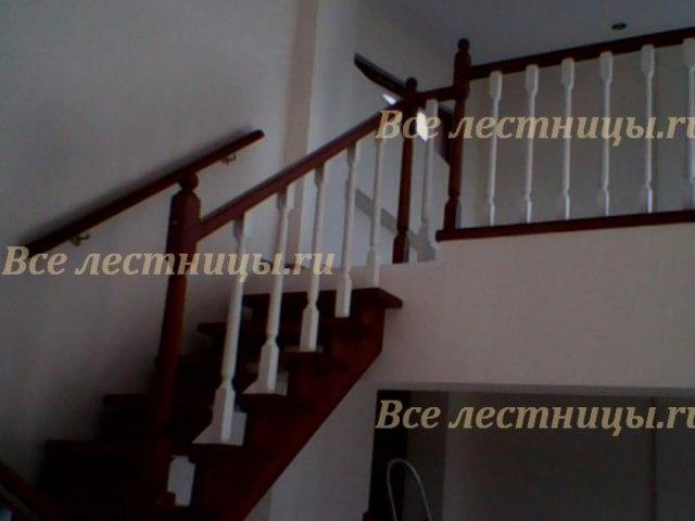 Деревянное лестничное ограждение DO-20 1