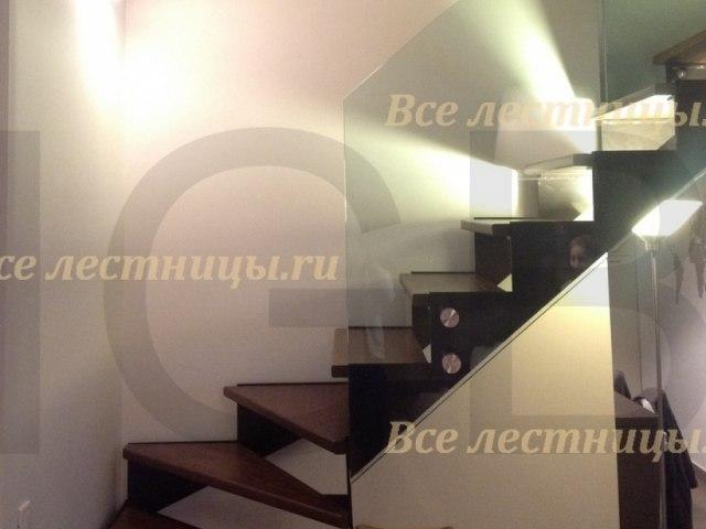 Стеклянное лестничное ограждение SO-24 1
