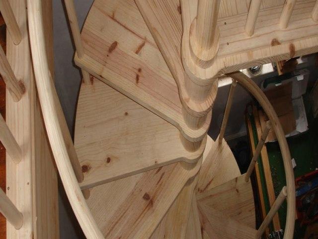 Винтовая лестница V-35 1