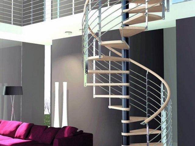 Винтовая лестница V-39 1