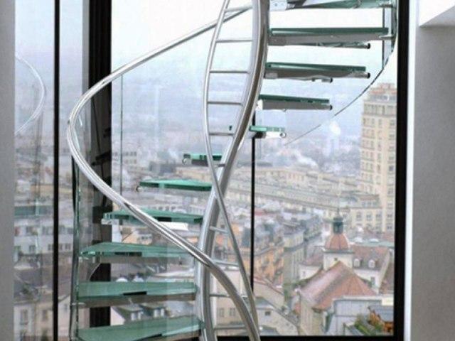 Винтовая лестница V-40 1