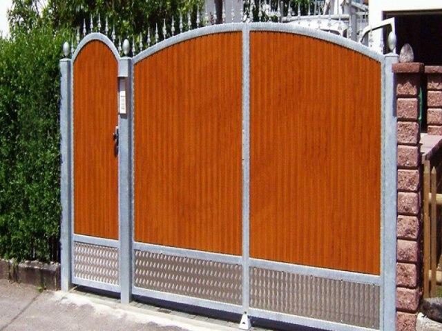 Кованые ворота Z-11 1
