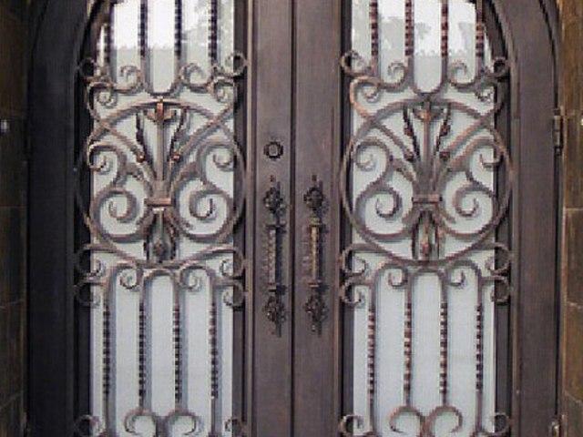Кованые ворота Z-15 1
