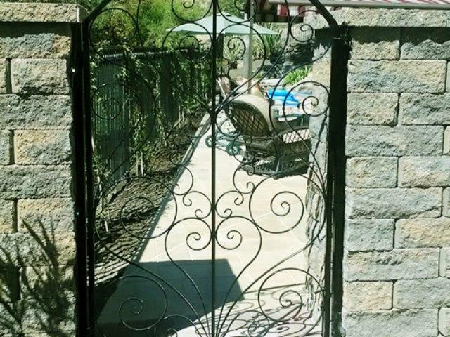 Кованые ворота Z-17 1