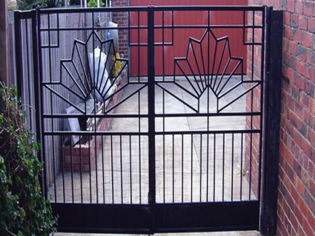 Кованые ворота Z-21 1