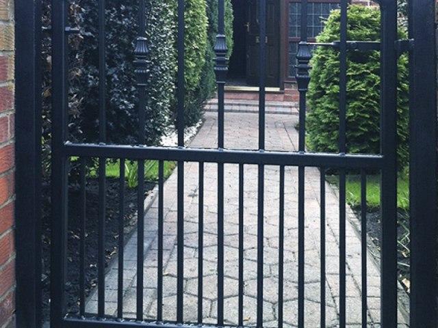 Кованые ворота Z-24 1