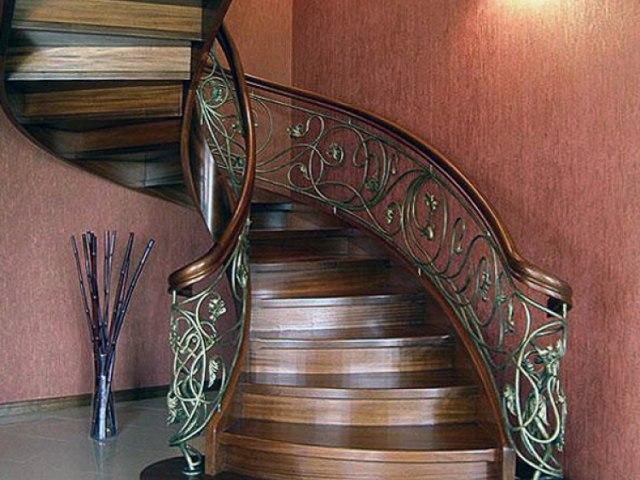 Лестница деревянная EL_29 1
