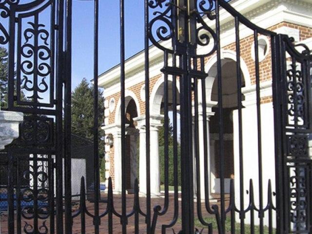 Кованые ворота Z-26 1