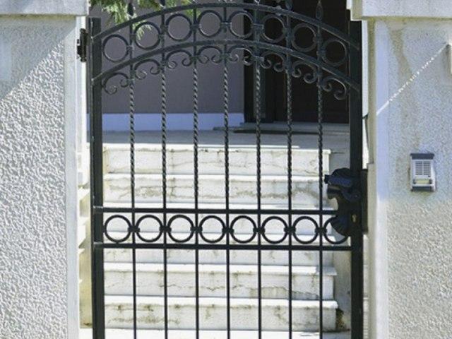Кованые ворота Z-28 1