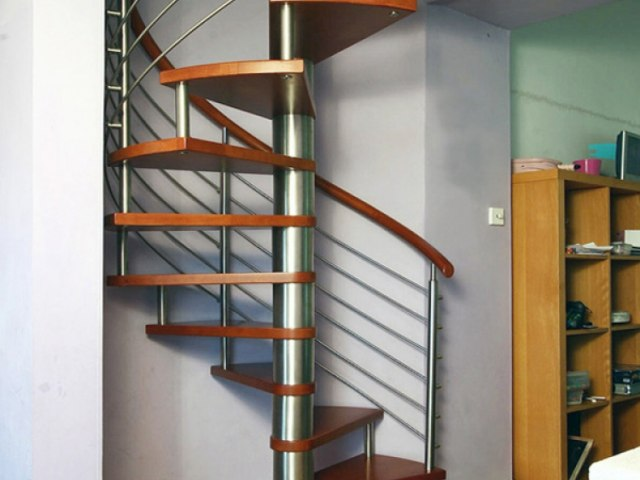 Винтовая лестница V-48 1