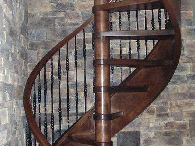 Винтовая лестница V-49 1