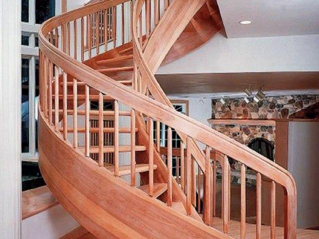 Винтовая лестница V-51 1