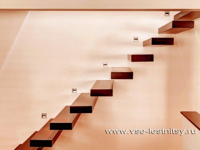 Лестница консольная HL_36 1