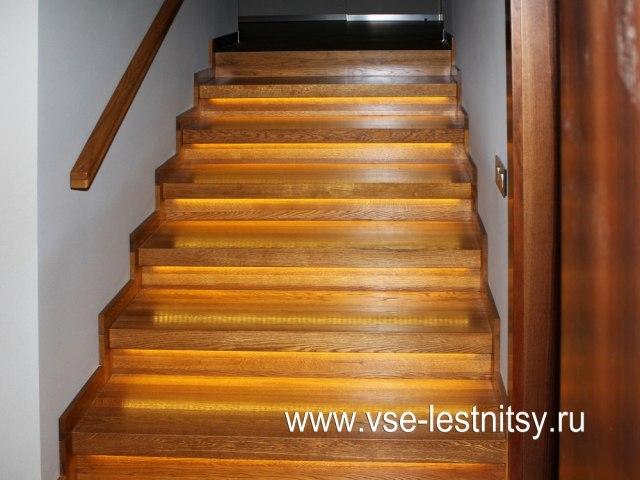 Деревянная лестница D-92 1