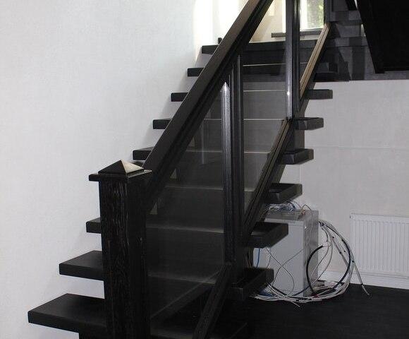 Лестница на монокосоуре DF13 2