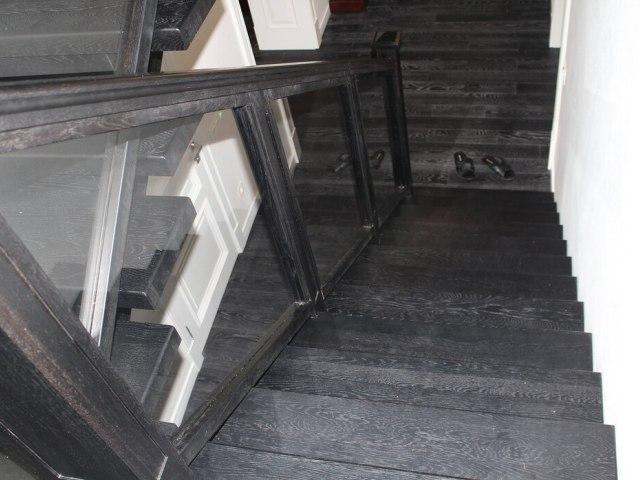 Лестница на монокосоуре DF13 4