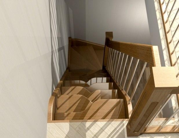 Лестница ДТ-2 3