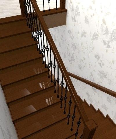 Лестница ЛБ-1 3