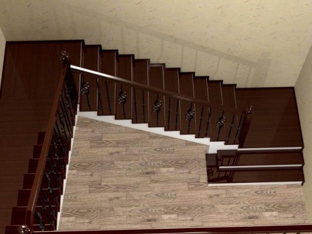 Лестница ЛБ-2 1