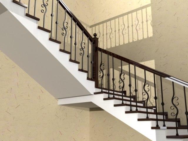 Лестница ЛБ-2 3