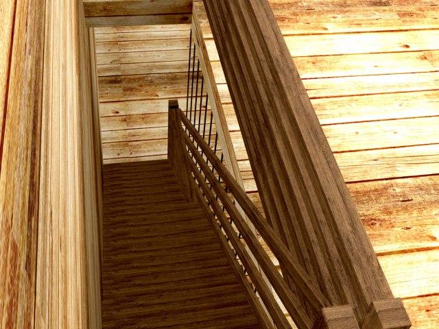 Лестница ДБ-3 3